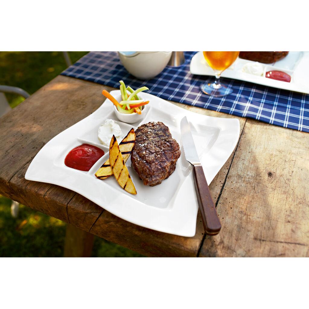빌레로이 앤 보흐 뉴웨이브 Villeroy & Boch New Wave Grill Plate 10 1/2 in