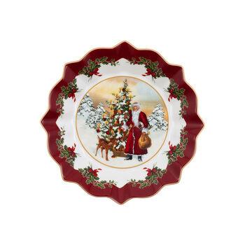 Toy's Fantasy Bowl: Santa with Christmas Tree