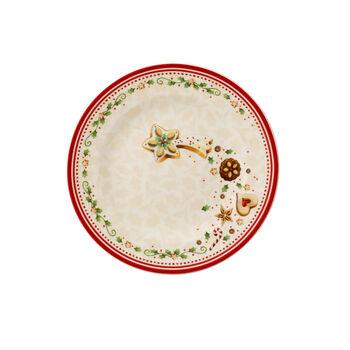 Winter Bakery Delight Salad Plate: Falling Star