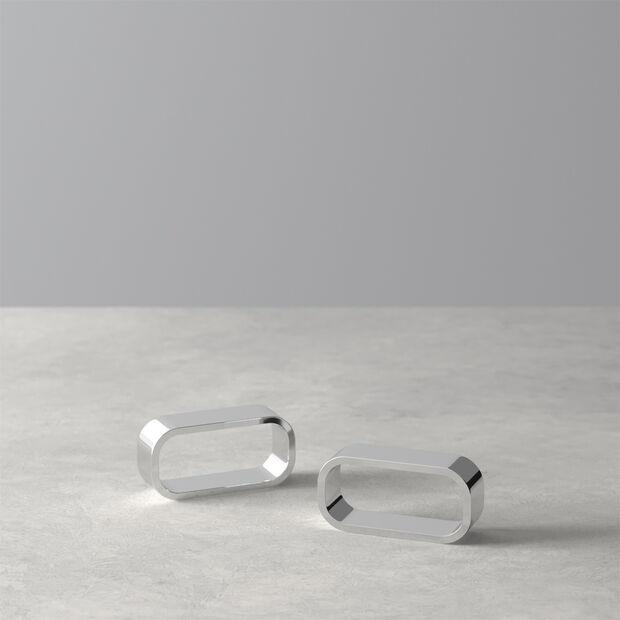 Daily Line Napkin Ring, Set of 2, , large