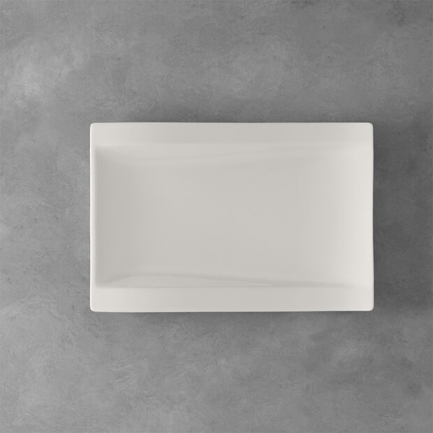 NewWave Large Rectangle Dinner Plate, , large