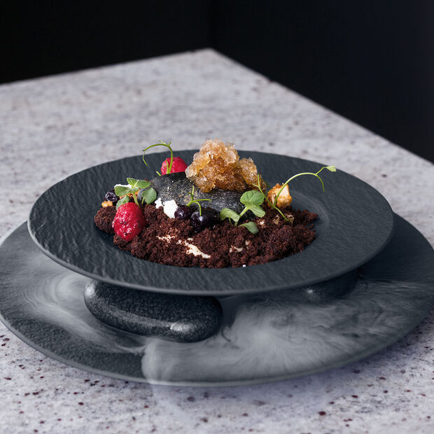 Manufacture Rock Pasta Plate, , large