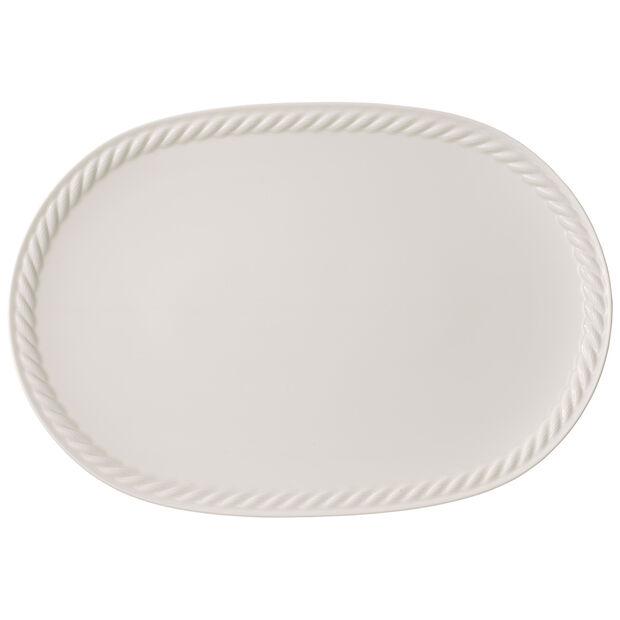 Montauk oval plate, , large