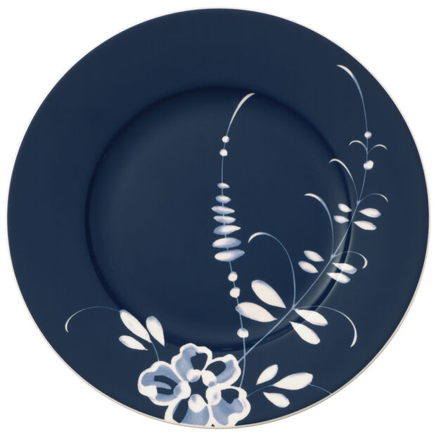 Old Luxembourg Brindille Salad  Plate: Blue, , large