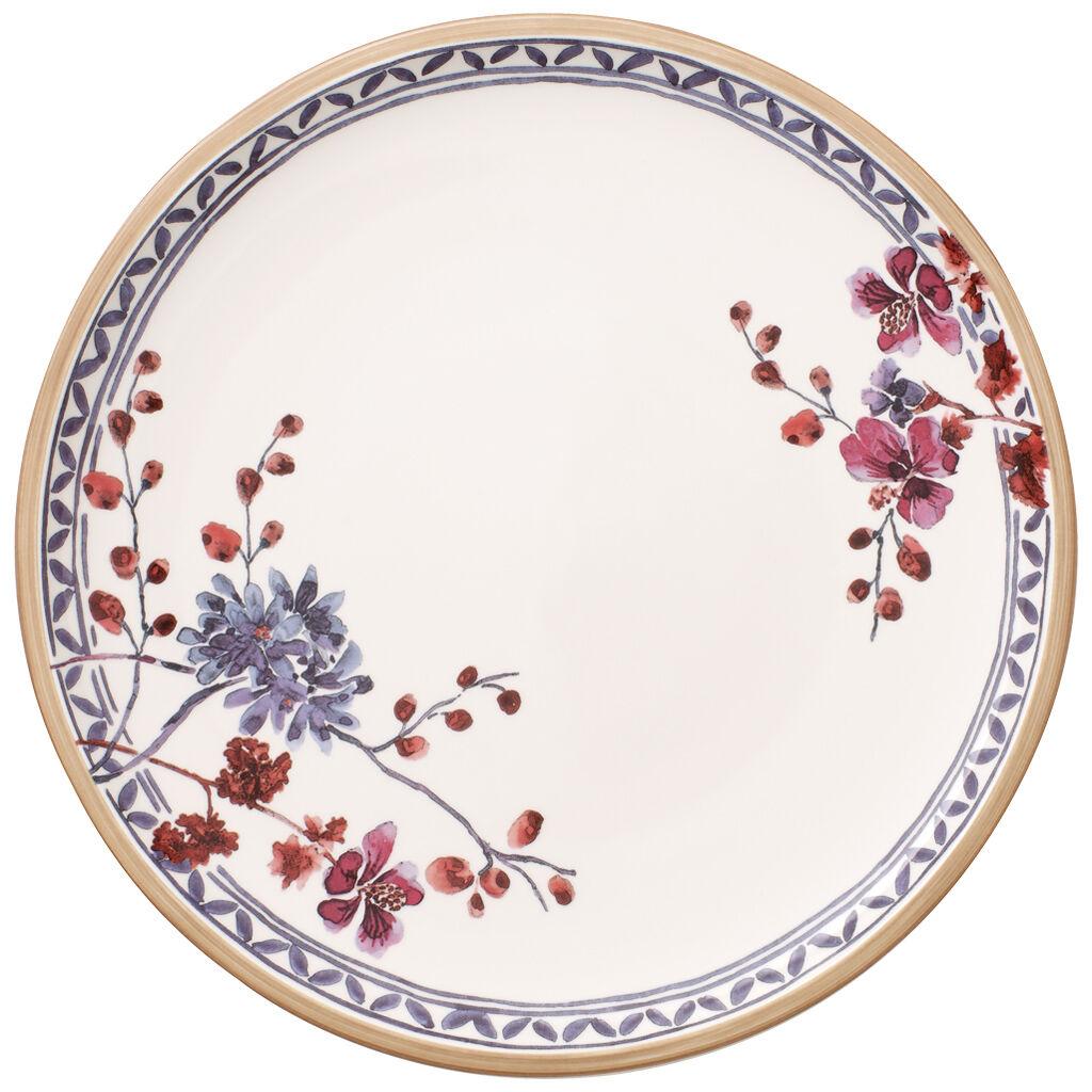 빌레로이 앤 보흐 아르테사노 디너 접시 Villeroy & Boch Artesano Provencal Lavender Dinner Plate : Floral 10.5 in