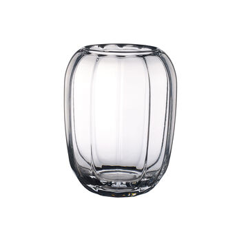 Coloured DeLight Hurricane Lamp/Large Vase: Clear
