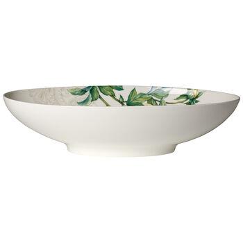 Quinsai Garden Oval Vegetable Bowl, Large