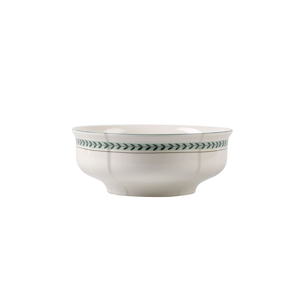 빌레로이 앤 보흐 프렌치 가든 야채 볼 Villeroy&Boch French Garden Green Line Round Vegetable Bowl 9.75 in