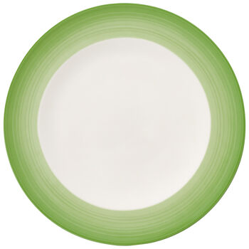 Colorful Life Green Apple Dinner Plate