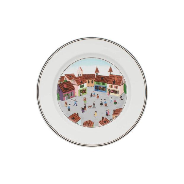 Design Naif Salad Plate #4 - Old Village Square, , large