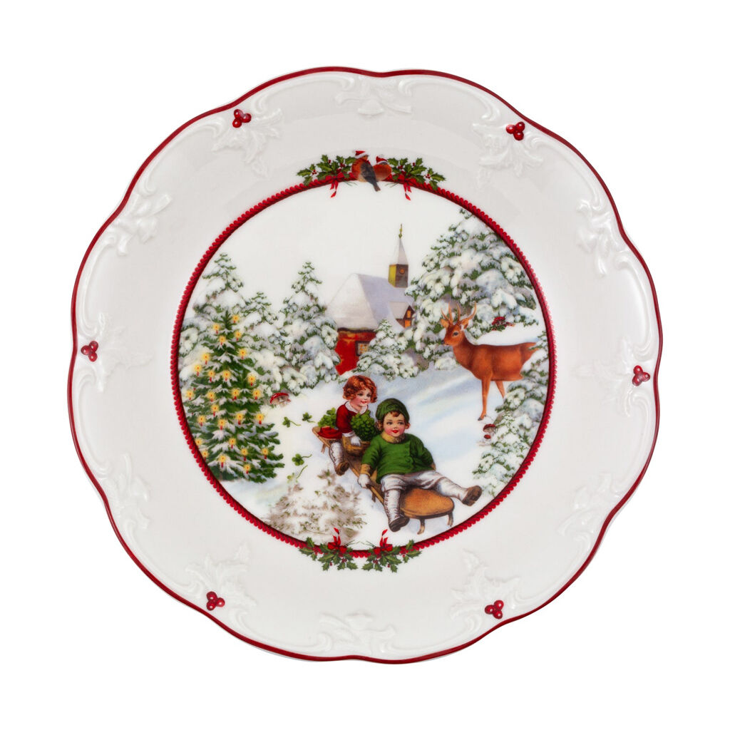 빌레로이 앤 보흐 '토이즈 판타지' 접시 Villeroy & Boch Toys Fantasy Bowl large, sleigh ride