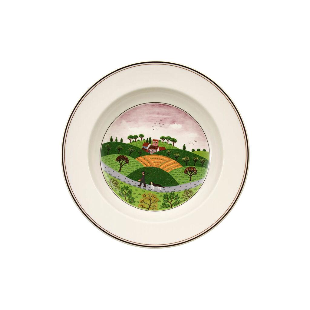 빌레로이 앤 보흐 디자인 나이프 접시 Villeroy&Boch Design Naif Deep plate Huntsman 21cm