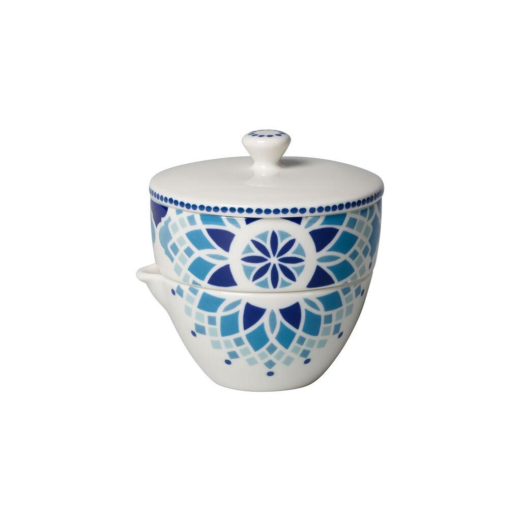 빌레로이 앤 보흐 티 패션 슈가 볼/크리머 Villeroy & Boch Tea Passion Medina Sugar Bowl/Creamer
