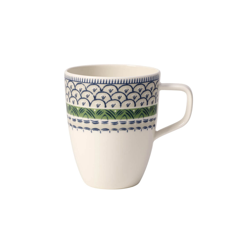 빌레로이 앤 보흐 카살레 블루 머그 Villeroy & Boch Casale Blue Bella Mug 12.75 oz