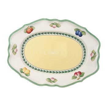French Garden Fleurence Oval Platter, Large