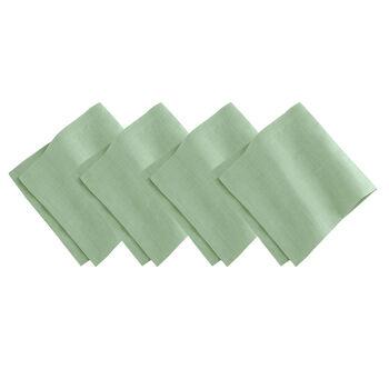 La Classica Napkin: Green, Set of 4