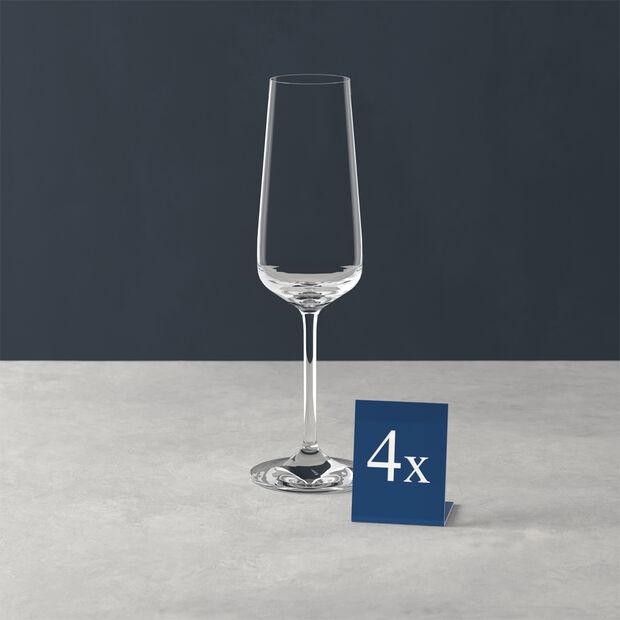 Ovid Champagne Flute, Set of 4, , large