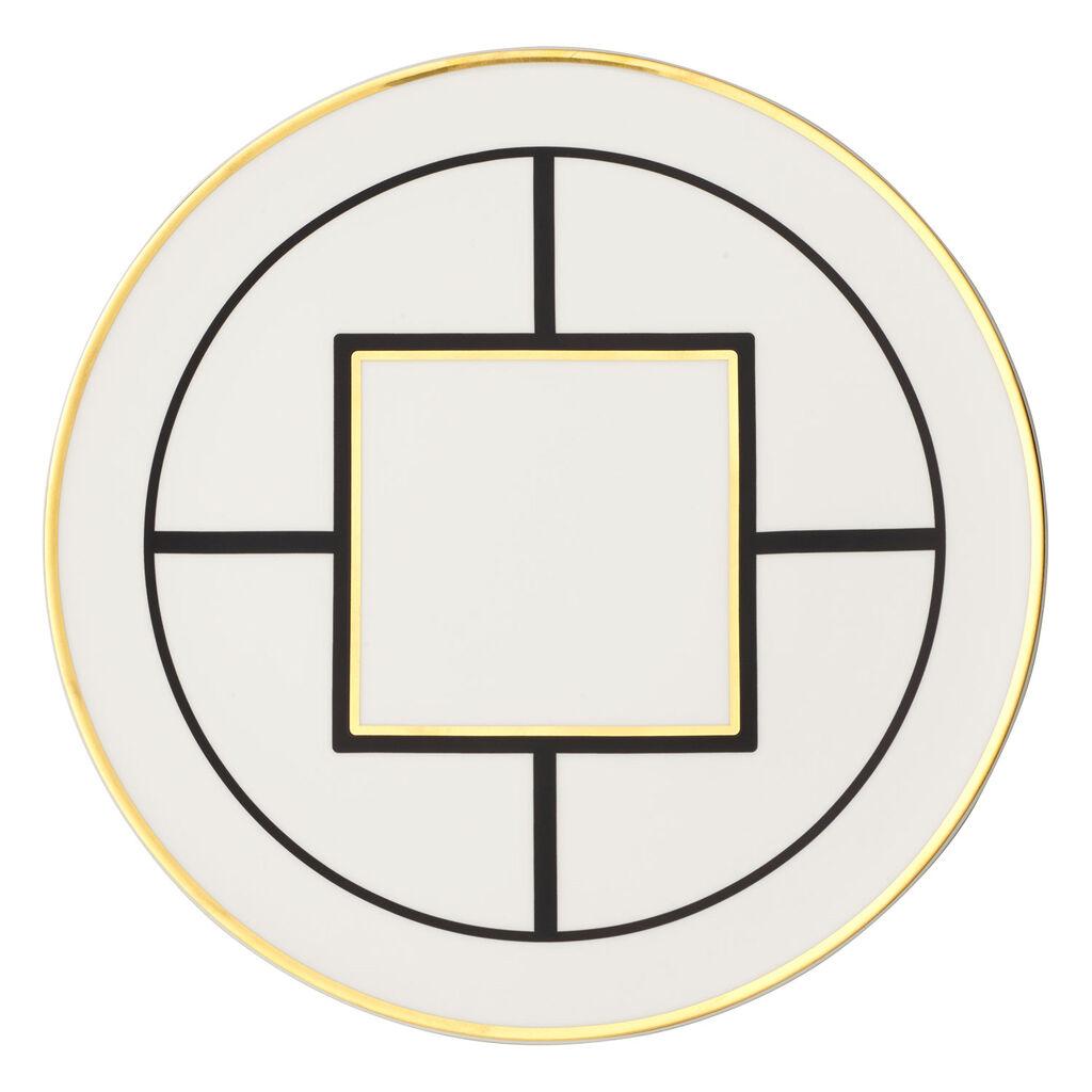 빌레로이 앤 보흐 '메트로 시크' 케익 접시 Villeroy & Boch MetroChic Cake Plate 13 in