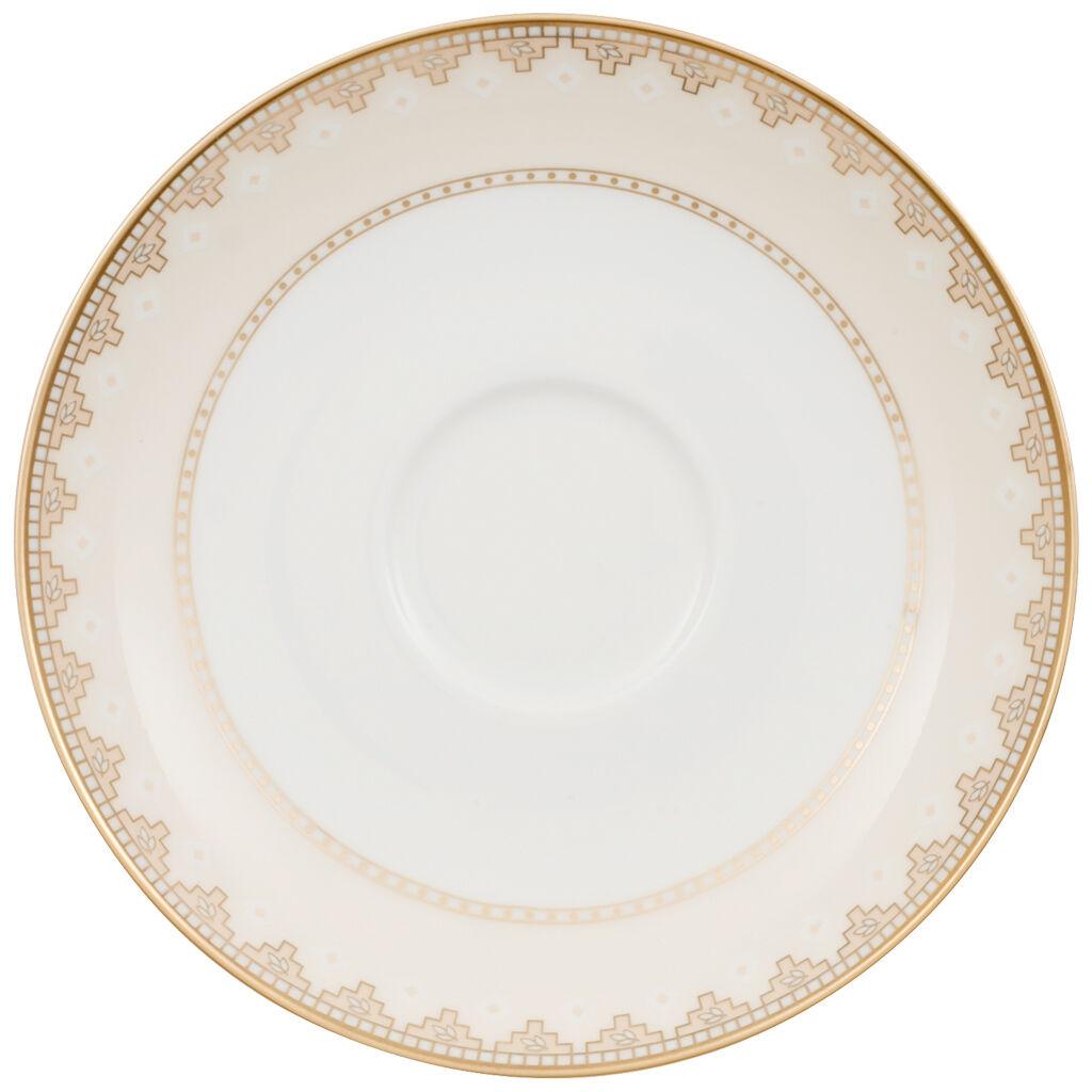 빌레로이 앤 보흐 그릇 Villeroy & Boch Samarkand Teacup Saucer 6 in