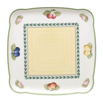 French Garden Charm Square Platter