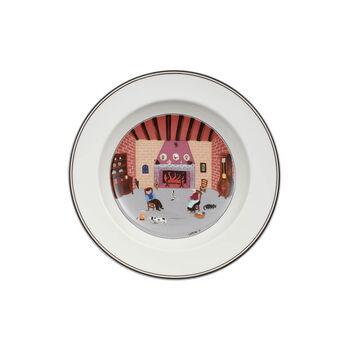 Design Naif Rim Soup #5 - By Fireside