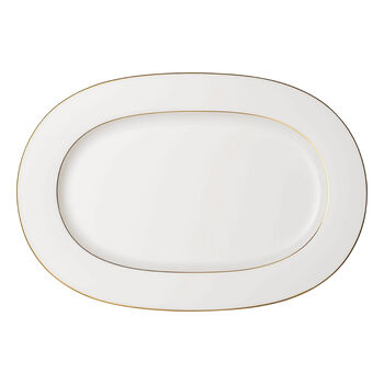 Anmut Gold Oval Platter
