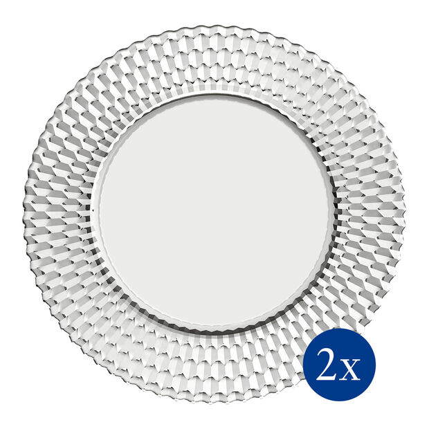 Boston Buffet Plate : Set of 2 12.5 in, , large