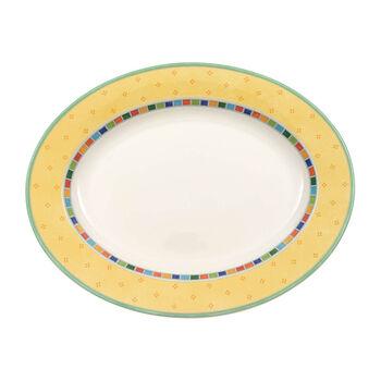 Twist Alea Limone Oval Platter 16 in