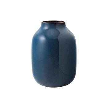 Lave Home Bleu Uni Nek Vase , Large