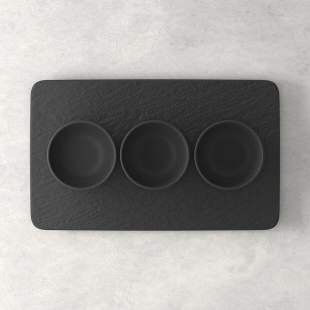 Manufacture Rock Dip Bowl & Tray 4 Piece Set, , large