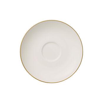 Anmut Gold Teacup Saucer
