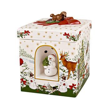 Christmas Toys Large Square Gift Box: Christmas Tree