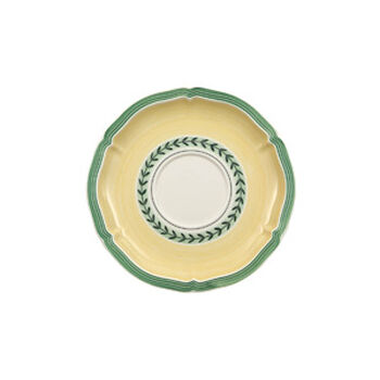 French Garden Fleurence Breakfast Cup Saucer