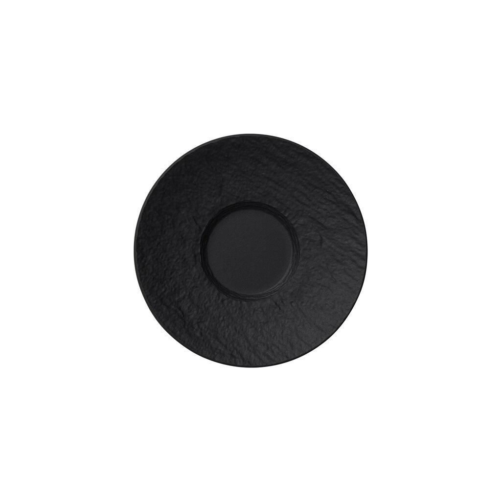 빌레로이 앤 보흐 에스프레소잔 받침대 Villeroy & Boch Manufacture Rock Espresso Cup Saucer 4.75 in