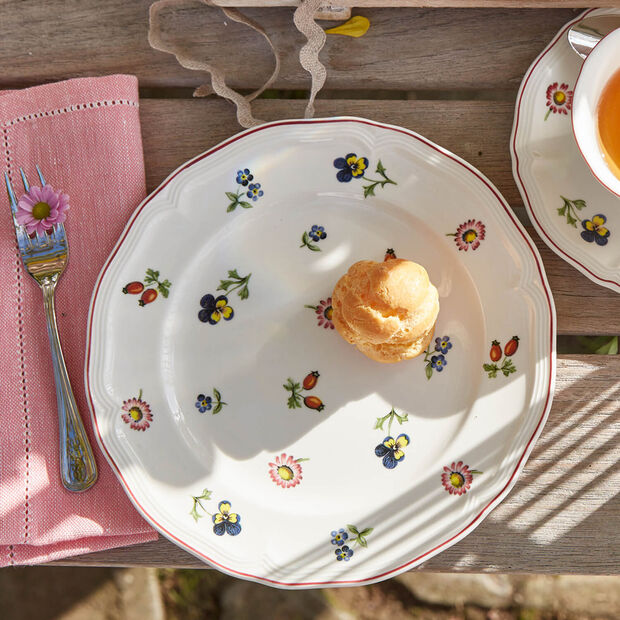 Petite Fleur Salad Plate, , large