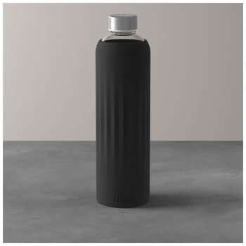 To Go & To Stay Drinking Bottle: Black