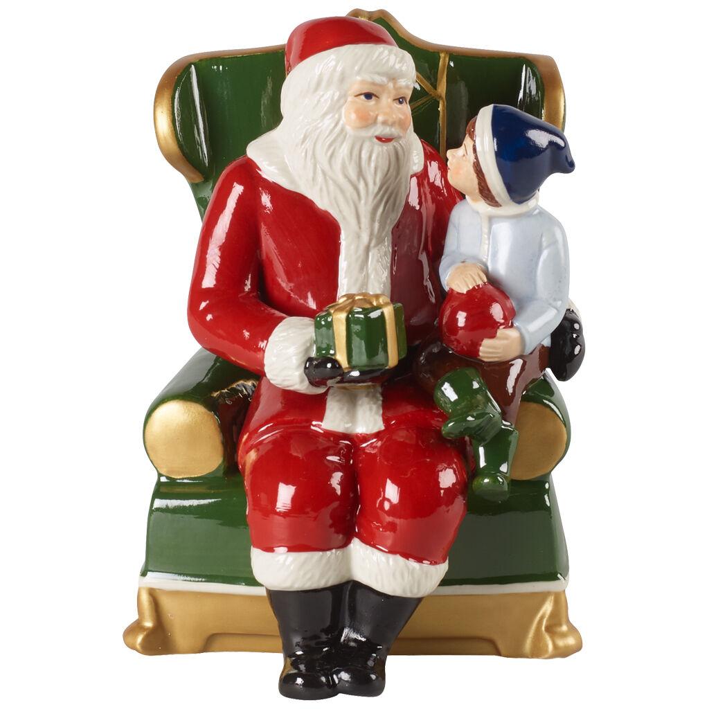 빌레로이 앤 보흐 '크리스마스 토이즈'  피규어 Villeroy & Boch Christmas Toys Figurine : Santa on Armchair 10x10x15cm