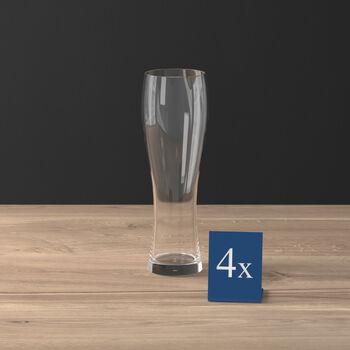 Purismo Pilsner Beer Glass, Set of 4