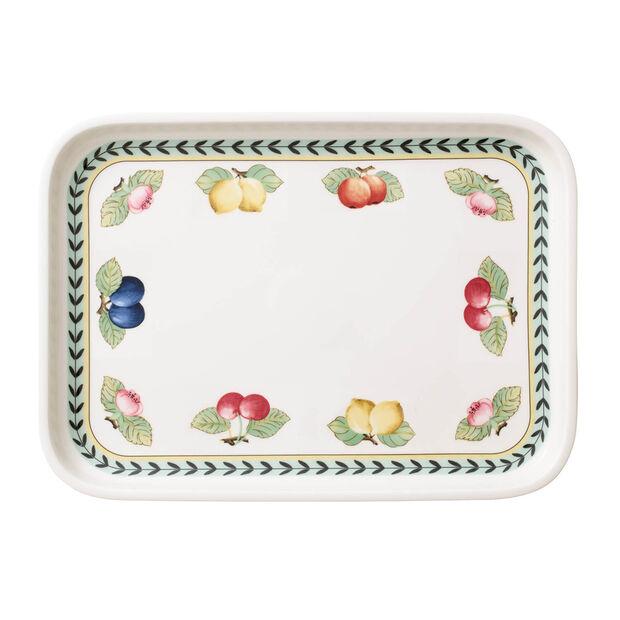 French Garden Baking Rectangular Serving Plate/Lid, Large, , large