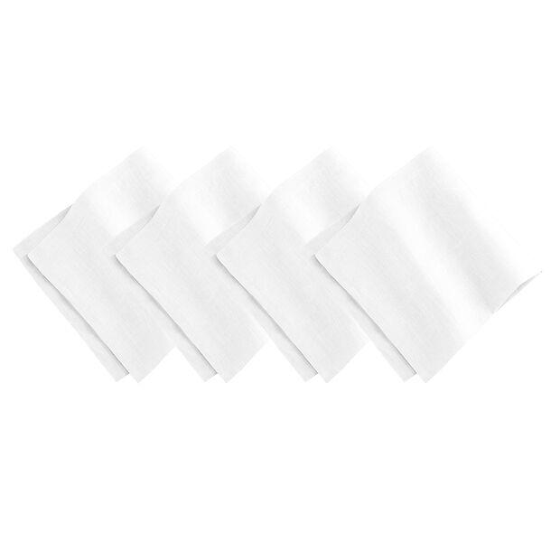 White Dinner Napkin Set, , large