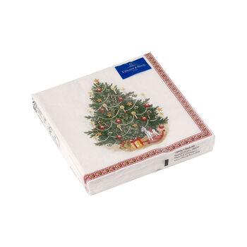 Winter Specials Cocktail Napkin: Fir Tree