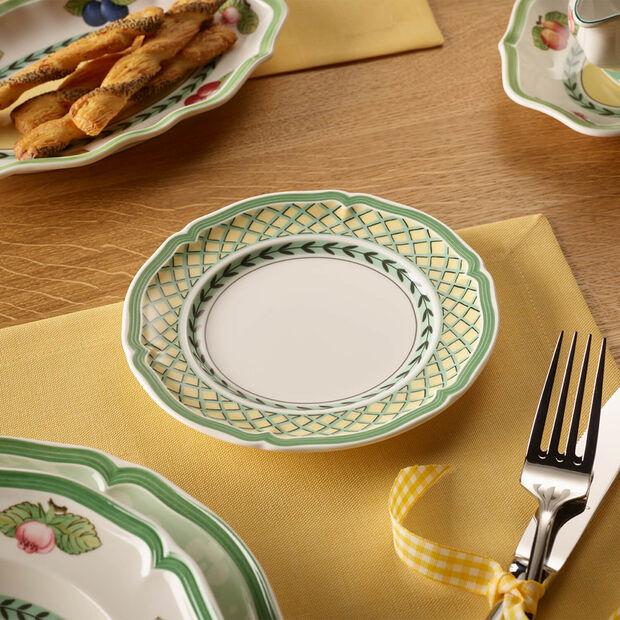 French Garden Orange Appetizer/Dessert Plate, , large
