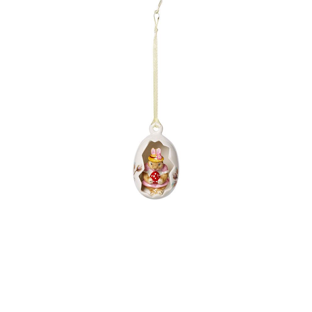 빌레로이 앤 보흐 '버니 테일즈' 부활절 토끼 장식품 Villeroy & Boch Bunny Tales Egg Ornament : Blossoms Rose