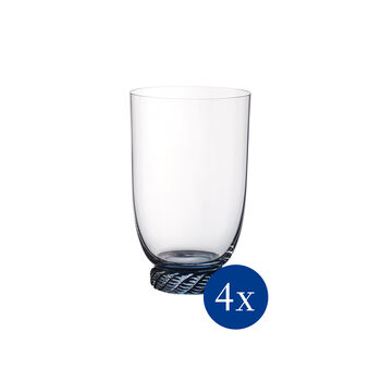 Montauk Hiball/Tumbler: Aqua, Set of 4