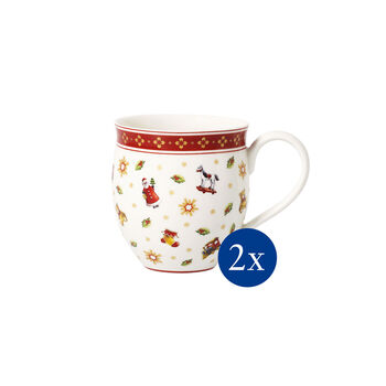 Toy's Delight Mug with Toys, Set of 2