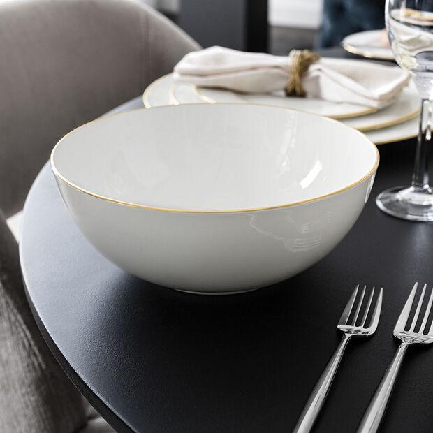 Anmut Gold Round Vegetable Bowl, , large