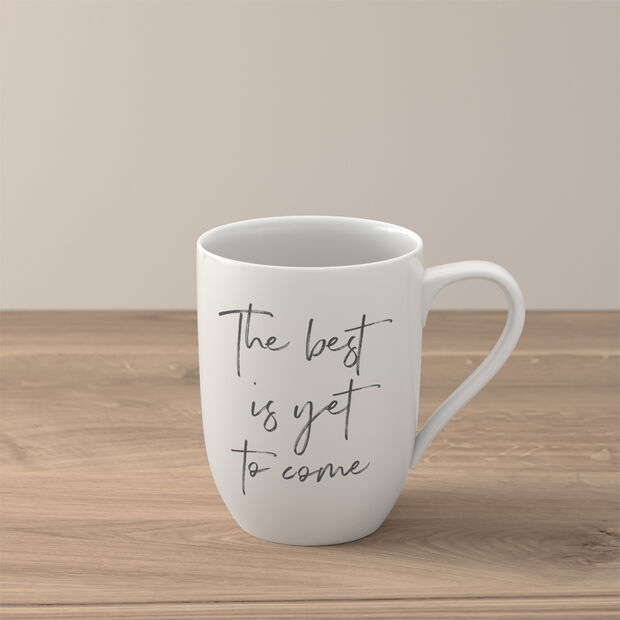Statement Mug: The best yet to come, , large