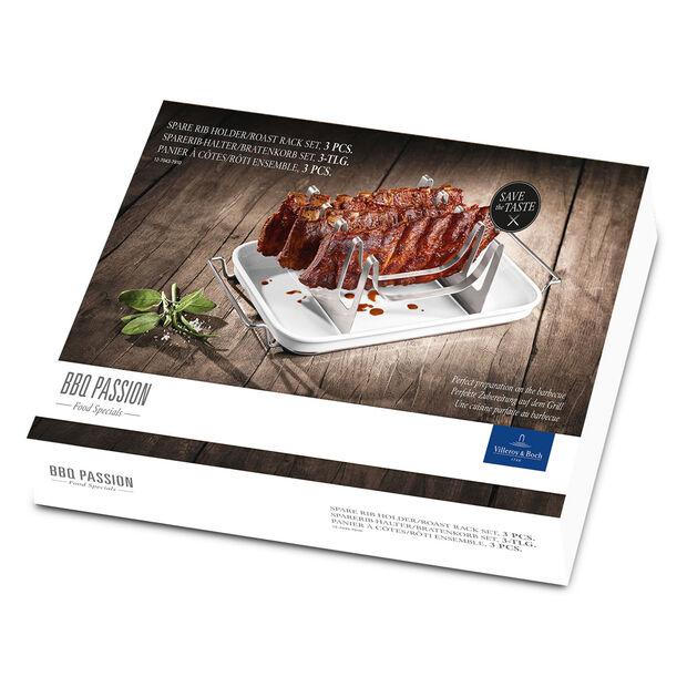 BBQ Passion Spare Rib Roast Rack (3 pieces), , large