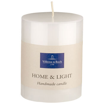 Essentials Candles White pillar 9cm