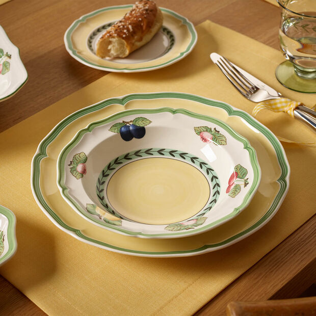 French Garden Fleurence Cereal Bowl, , large